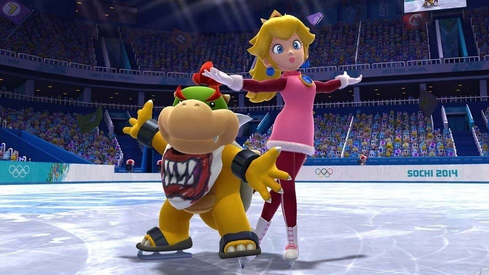 Mario Amp Sonic At The Sochi 2014 Olympic Winter Games