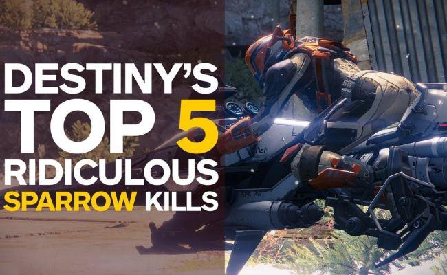 Destiny S Top 5 Ridiculous Sparrow Kills Ign Video