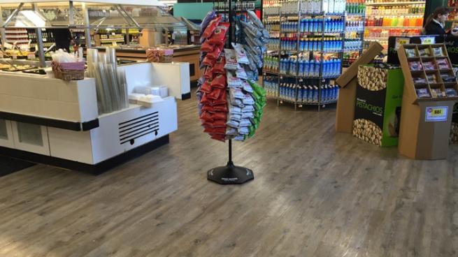 floors ceilings enhance supermarket