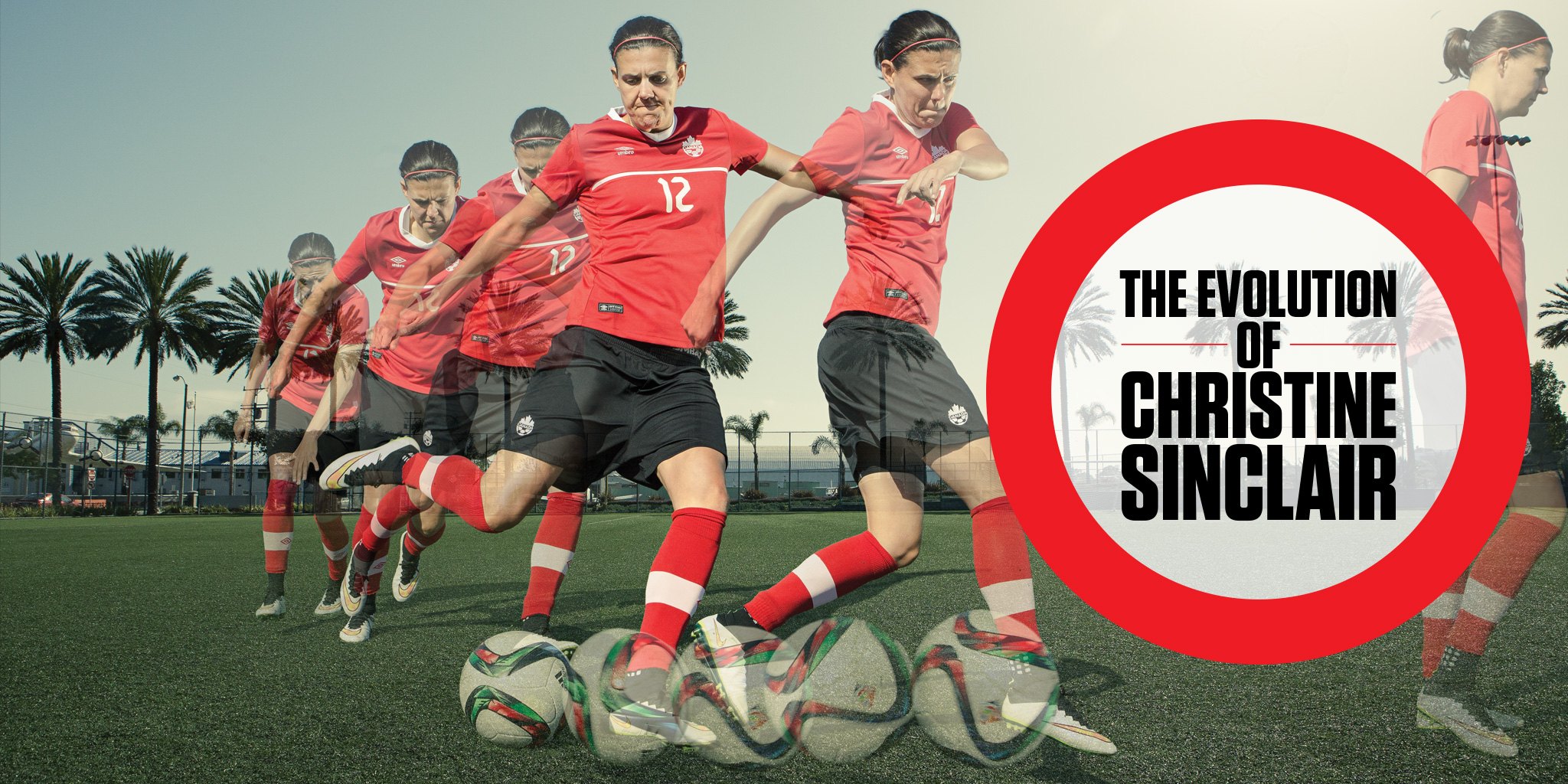 Big Read The evolution of Christine Sinclair  Sportsnetca