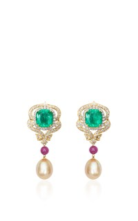 Regal Emerald Earring by Farah Khan Fine Jewelry | Moda ...