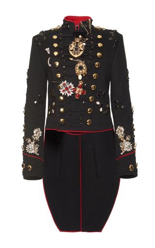 Embroidered Military Jacket by Dolce  Gabbana  Moda Operandi