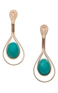 Gazebo Amazonite Earrings by Carla Amorim