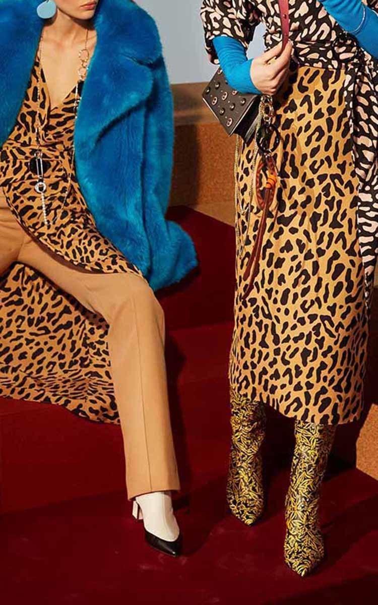 Faux Fur Jacket by Diane von Furstenberg  Moda Operandi