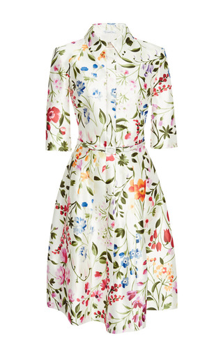white floral print dresses