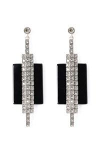 Ca&Lou Veronika Onyx Earrings by Charlotte Olympia | Moda ...