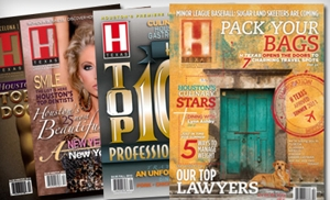 "$12 for a Two-Year Subscription to ""H Texas Magazine"" ($27.95 Value)"