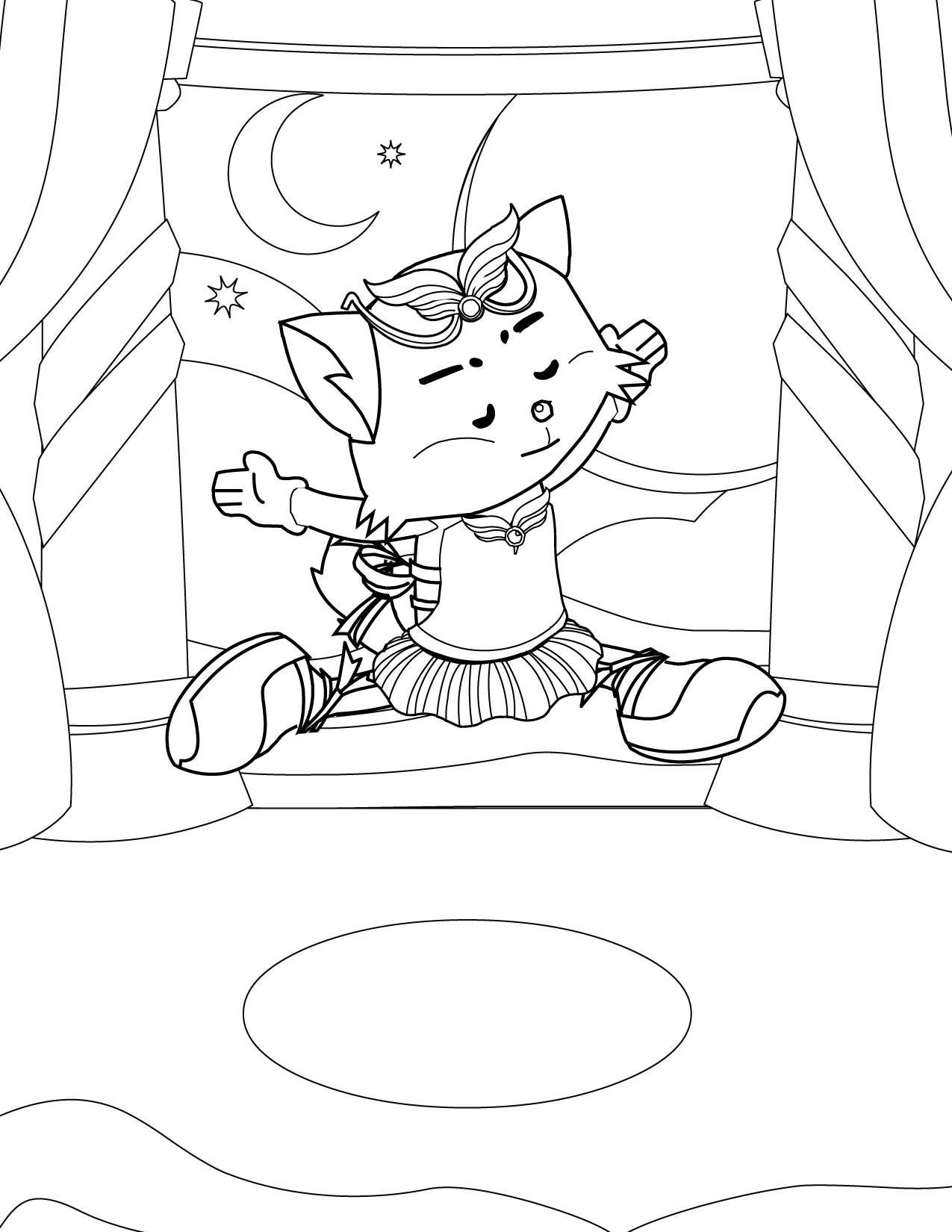 Stagecoach Coloring Pages