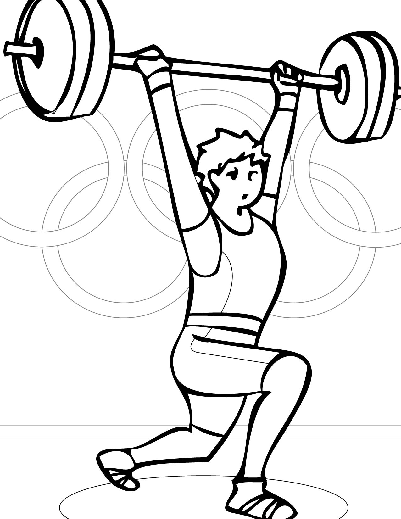 Olympic Medal Coloring Page Sketch Coloring Page