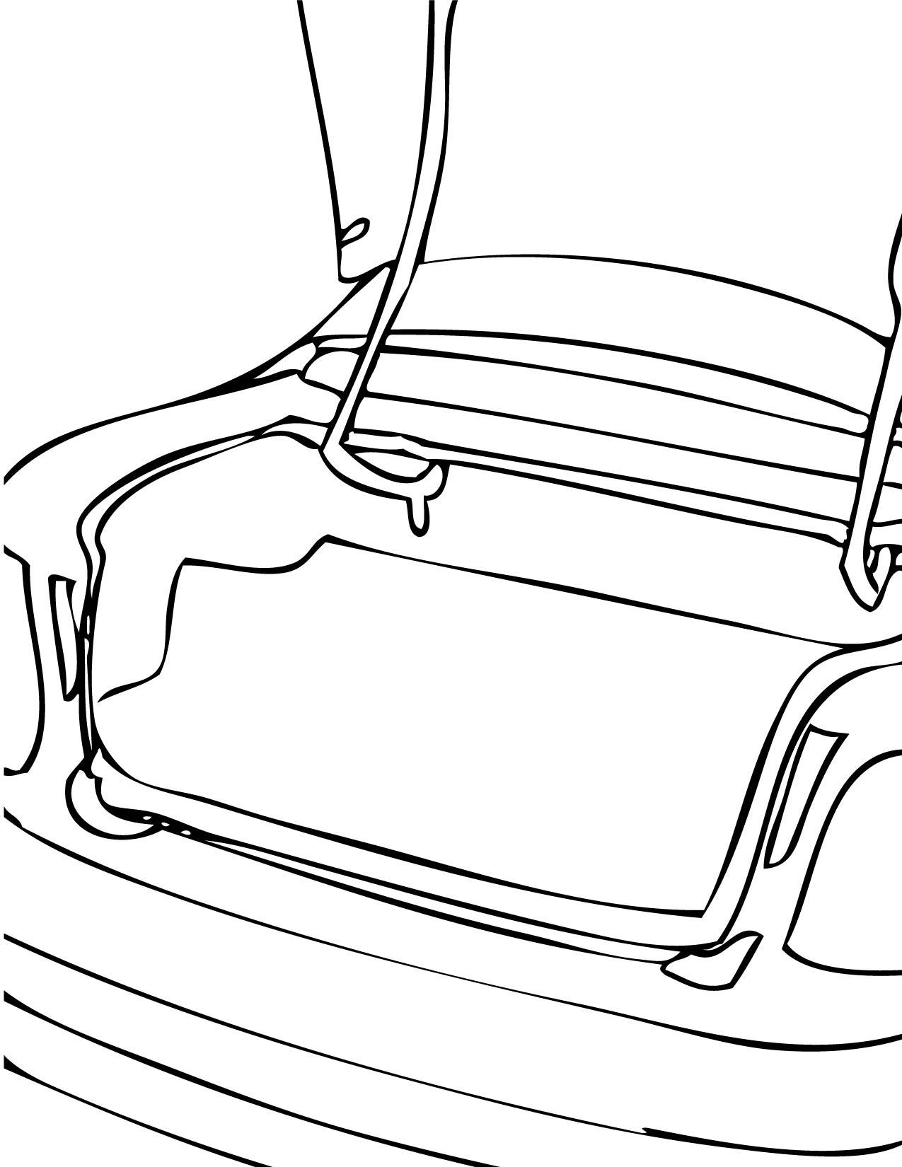 Car Parts Coloring Pages