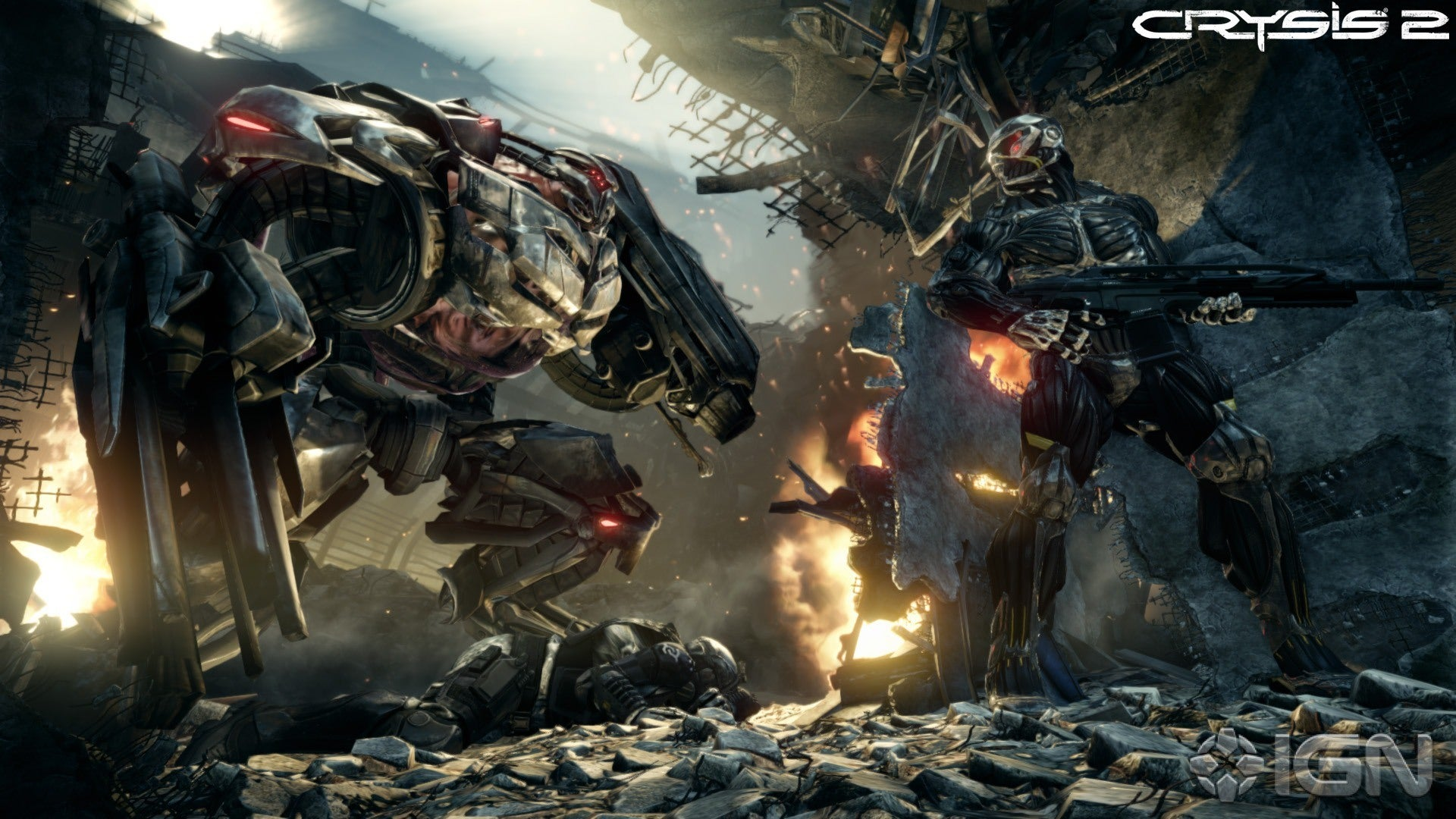 Crysis 2 Screenshots, Pictures, Wallpapers - Xbox 360 - IGN
