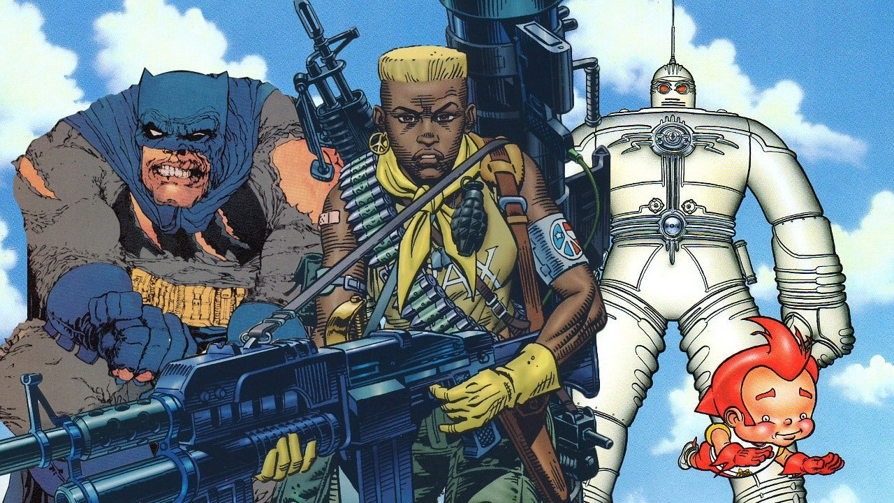 Top 10 Best Frank Miller Comic Books  IGN
