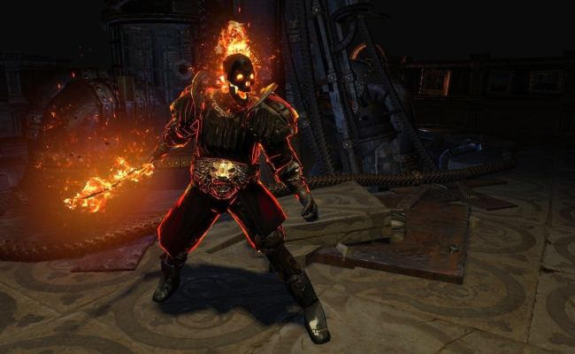 Path Of Exile War For The Atlas Expansion Announced Ign