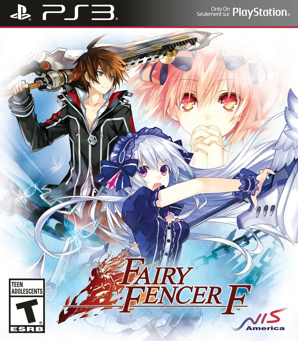 Fall Out Boy Game Wallpaper Fairy Fencer F Review Ign