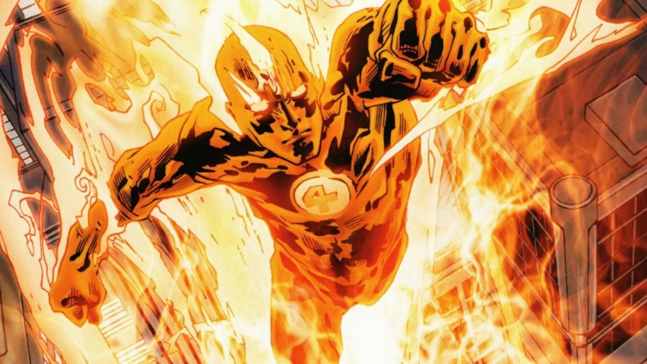 Final Fantasy X Wallpaper Iphone Human Torch To Join The Uncanny Inhumans Ign