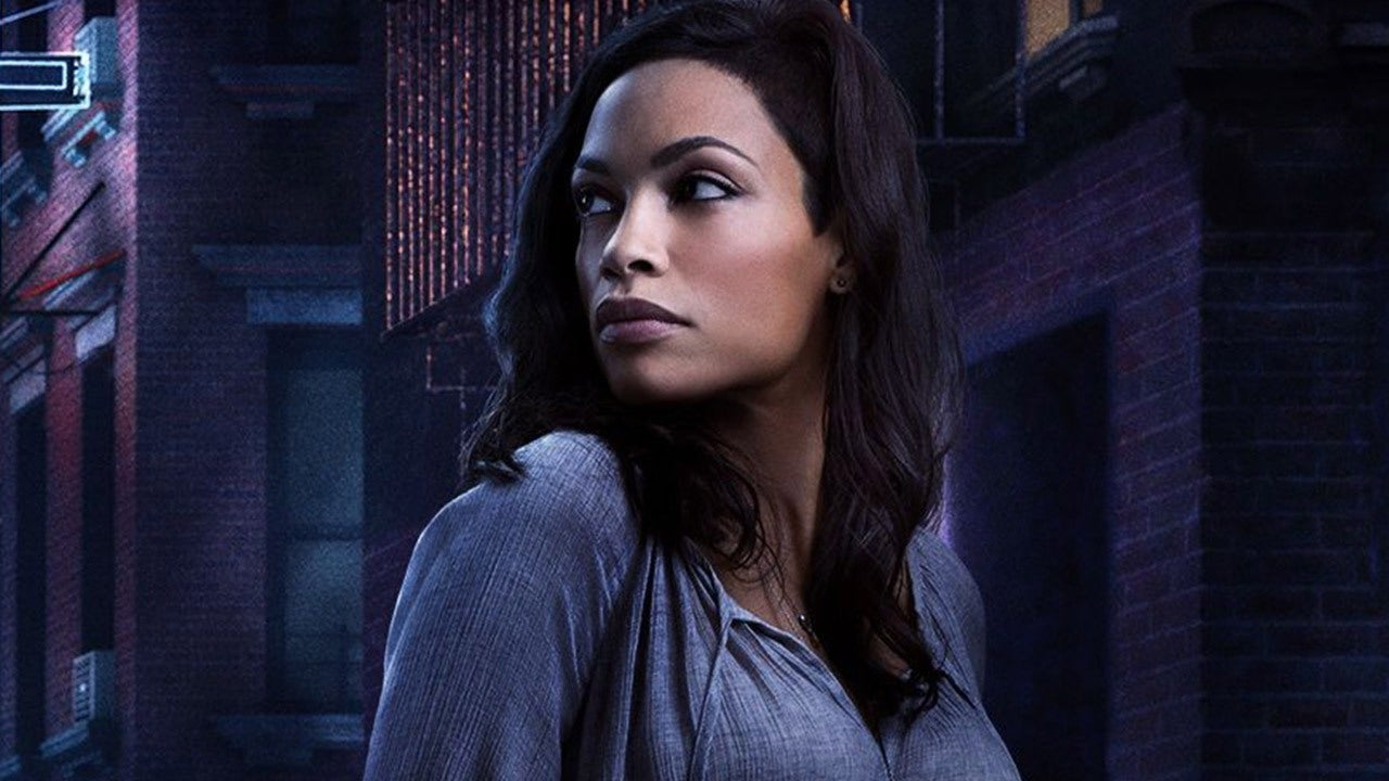 Caged Girl Wallpaper Rosario Dawson Theo Rossi And Simone Missick Join Marvel