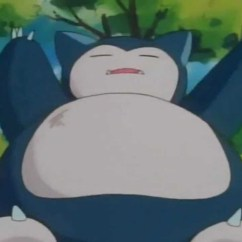 Anime Bean Bag Chair Off White This Snorlax Is (sadly) Not Life-sized - Ign