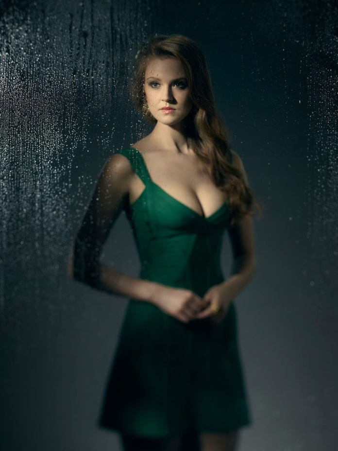 "Maggie Geha as Ivy ""Pamela"" Pepper / Poison Ivy in Gotham: Season 3"