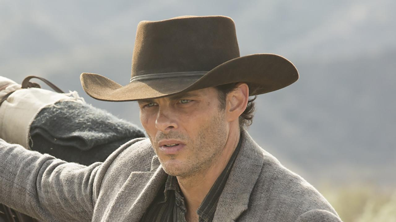 New Westworld Images Teddy And The Man In Black Run Into
