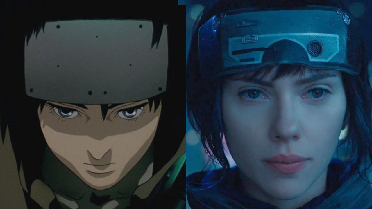 Ghost In The Shell Anime Vs Movie Side By Side Comparison