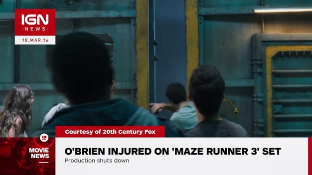 The Maze Runner: The Death Cure Production Shutdown ...