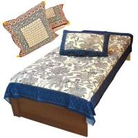 Buy Buy Single BedSheet n Get Fancy Cushion Cover Set Free ...