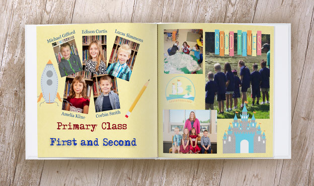 online yearbook design spreads