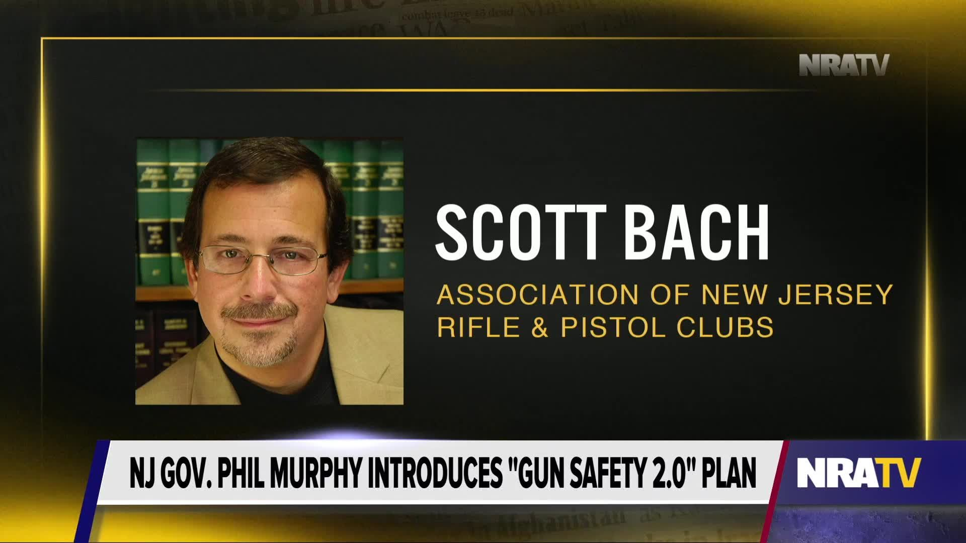 Scott Bach Round Two For Gun Control In New Jersey