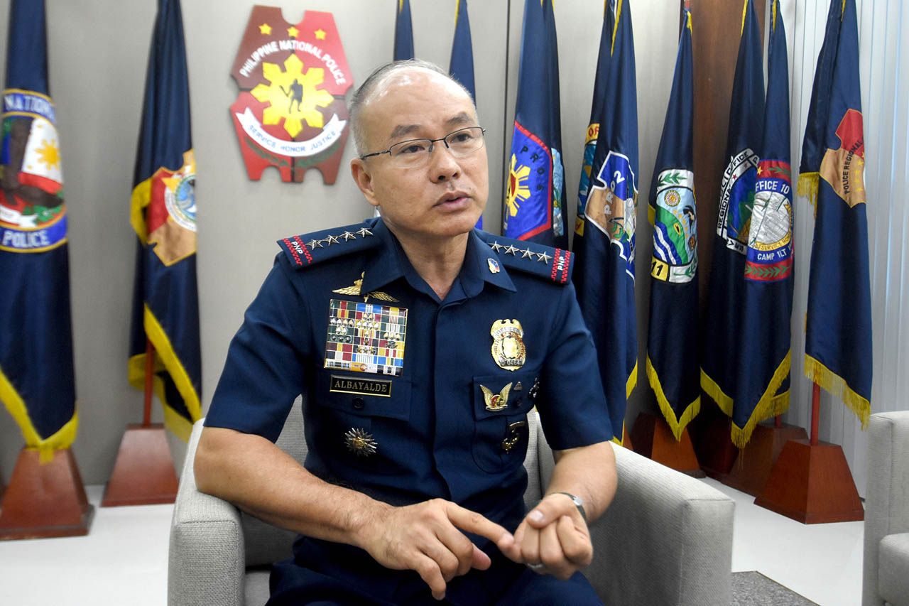Drug campaign files ready. PNP just waiting for Duterte nod to share