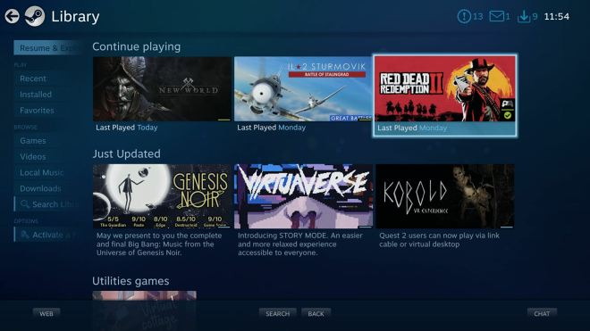 bigpicture_pFbg7ov Steam's Big Picture Mode is being replaced by Steam Deck OS   Rock Paper Shotgun