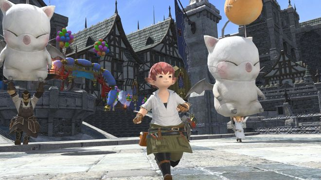 final-fantasy-xiv-lalafell The running animations in Final Fantasy XIV are my everything | Rock Paper Shotgun
