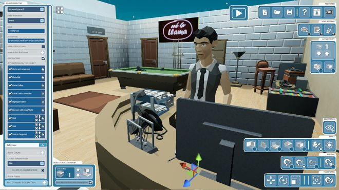 heistsim2 Heist Simulator lets you craft your own capers and share them with the world   Rock Paper Shotgun