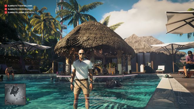 hitman%20haven%20island I didn't think about games for a week and it was nice | Rock Paper Shotgun
