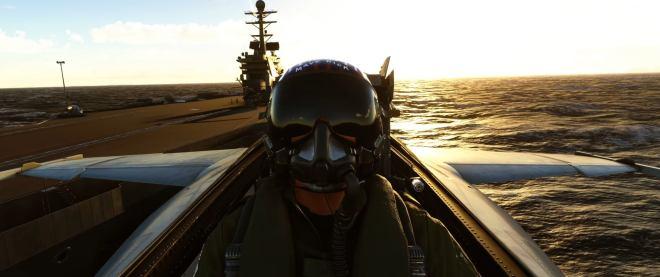 msfs-top-gun-header Microsoft Flight Simulator is getting a free Top Gun expansion this autumn   Rock Paper Shotgun