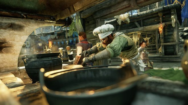 new-world-crafting-cooking New World's crafting is great because I had no choice but to use it   Rock Paper Shotgun