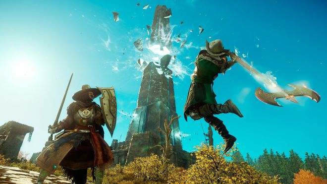 new-world-mmo New World's closed beta will be worth watching before launch in August | Rock Paper Shotgun