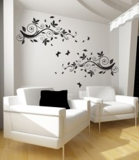 Buy Modern butterfly artistic wall decal Online