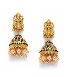Buy Irresistible Matte Finish Earrings jhumka online