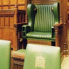 Black Living Room Chairs Paint For 2017 The Speaker's Chair - Uk Parliament
