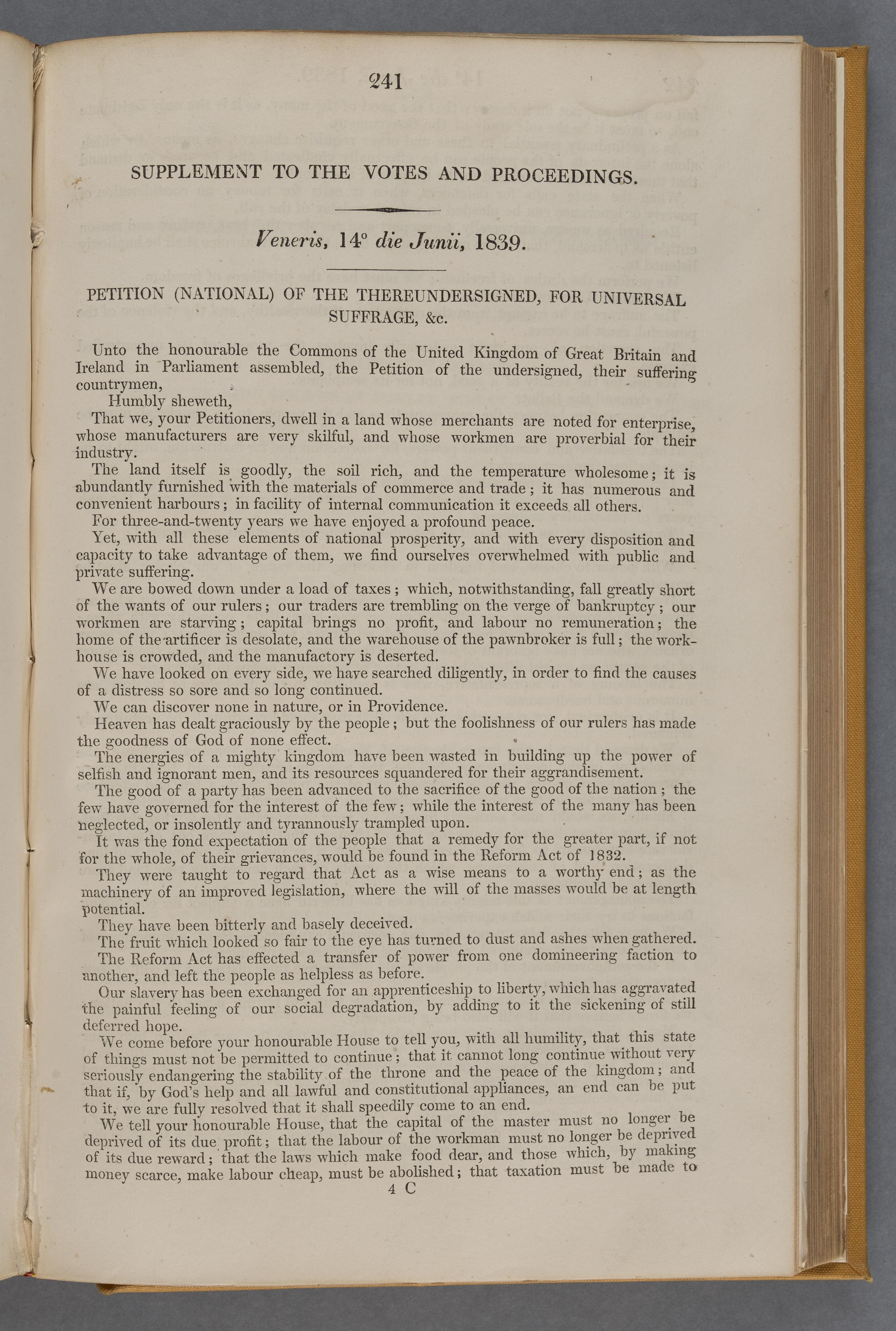 Chartist Petition