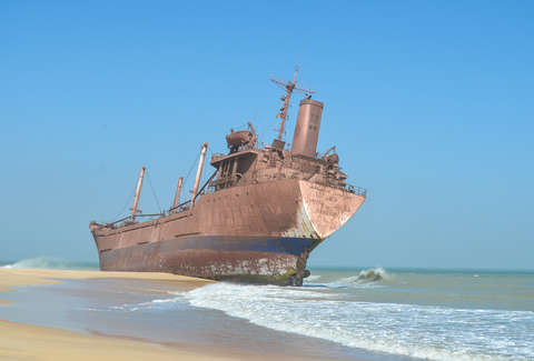 The Worlds Biggest Ship Graveyard Thrillist