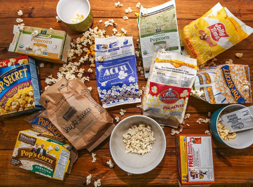 best microwave popcorn pop secret