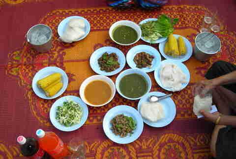 Best Breakfast In The World  Traditional Breakfast From