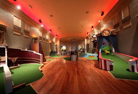 Miniature Golf Mission Bars Restaurants Urban Putt SF