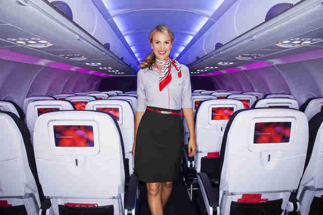 Flight Attendant Uniforms That Make Fashion Statements Air France Tops Our List  Thrillist