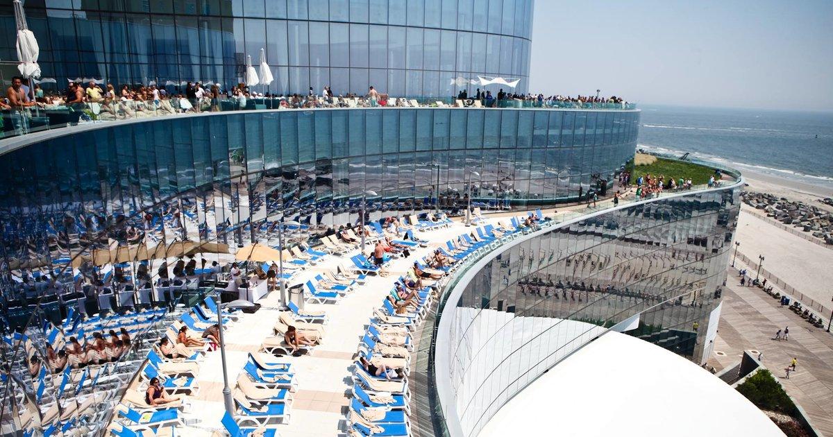 The best hotel pools in Atlantic City  Thrillist