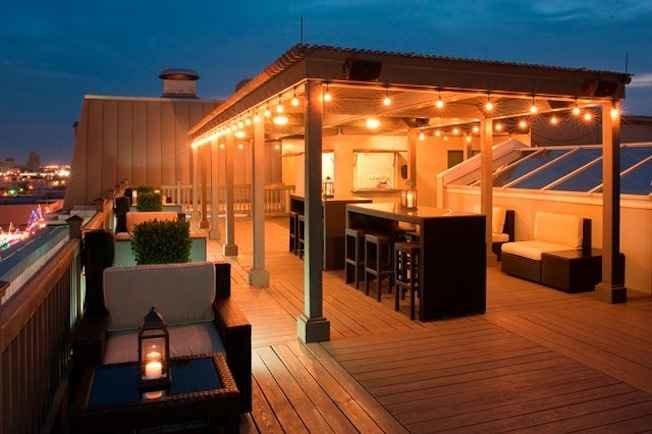 Tremont House Rooftop Bar A Houston TX Bar