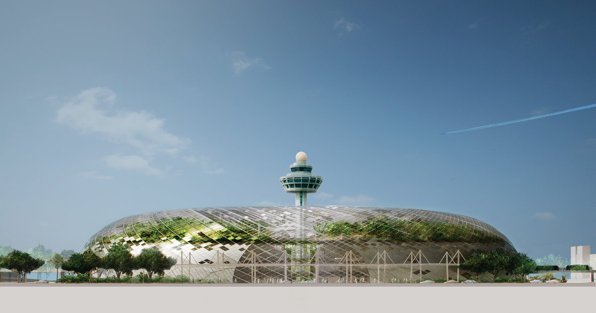 Project Jewel BioDome in Changi Airport  Architect