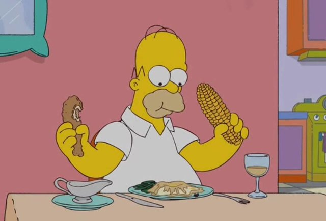 Homer Sitting On Car Wallpaper Every Time Homer Simpson Says Quot Mmm Quot In The Simpsons