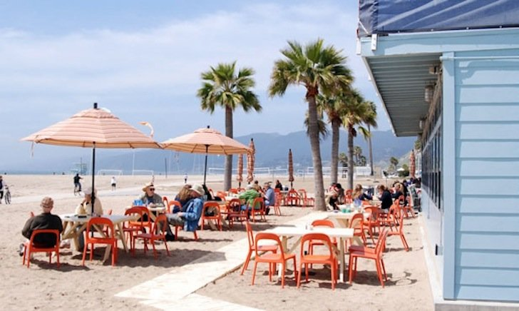 Beachside Restaurants And Bars